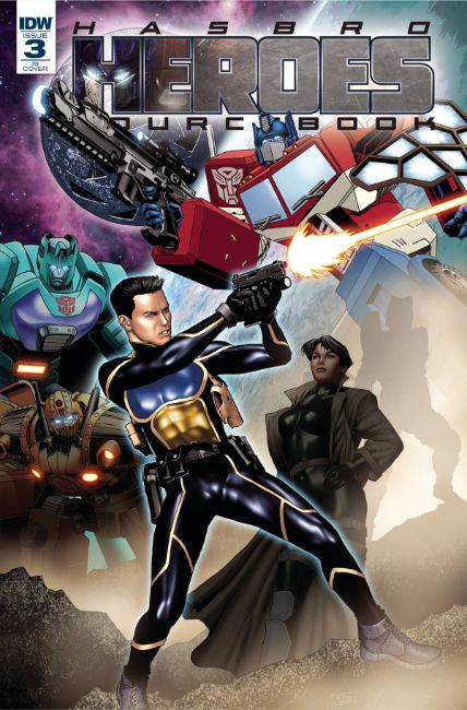 Hasbro Heroes Sourcebook #3 Cover A [IDW Comic]