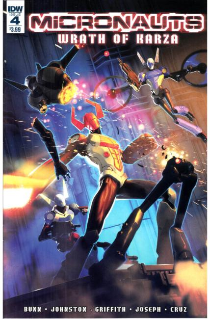 Micronauts Wrath of Karza #4 Cover A [IDW Comic]