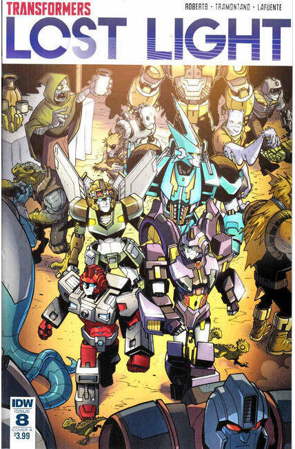 Transformers Lost Light #8 Cover A [IDW Comic]