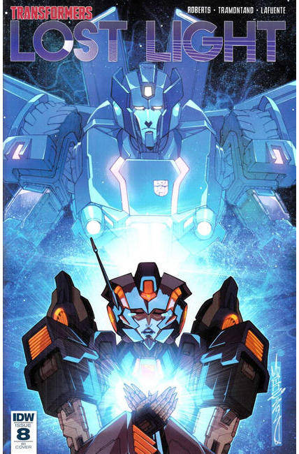 Transformers Lost Light #8 Cover RI [IDW Comic]