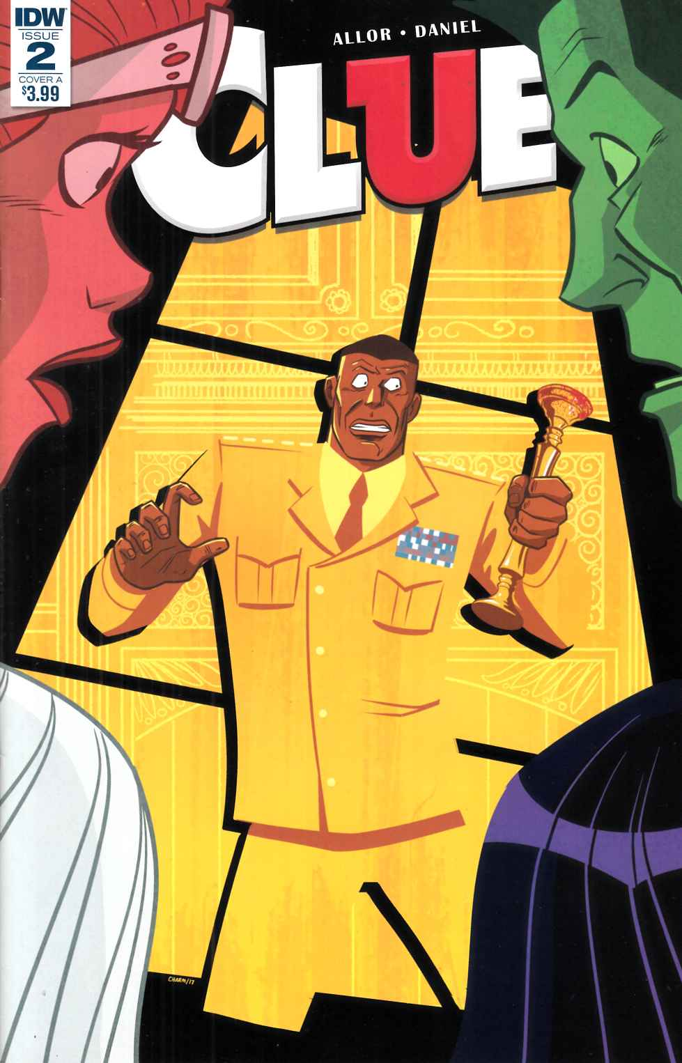 Clue #2 Cover A [IDW Comic]