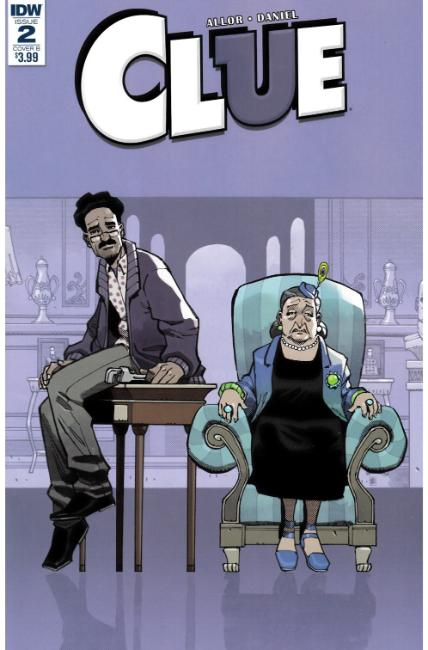 Clue #2 Cover B [IDW Comic]