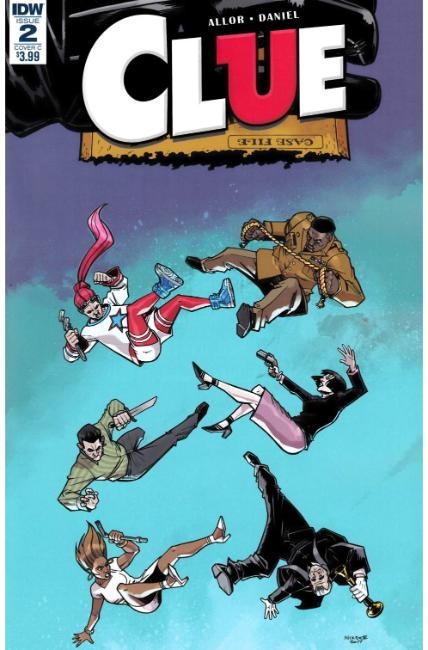 Clue #2 Cover C [IDW Comic]