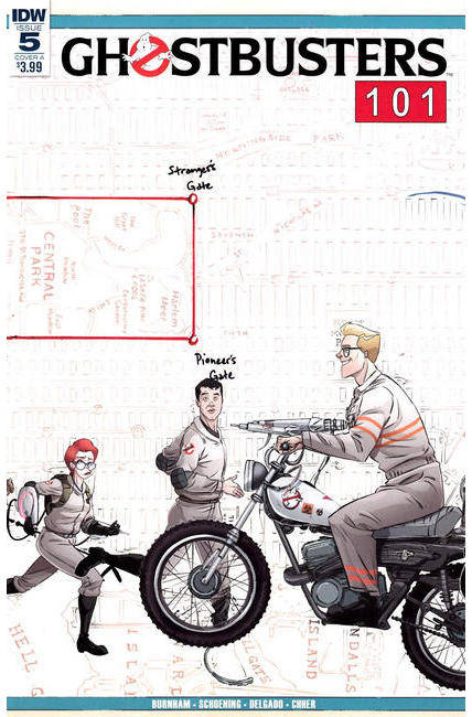 Ghostbusters 101 #5 Cover A [IDW Comic] THUMBNAIL