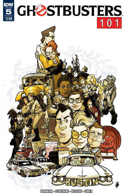 Ghostbusters 101 #5 Cover B [IDW Comic] THUMBNAIL