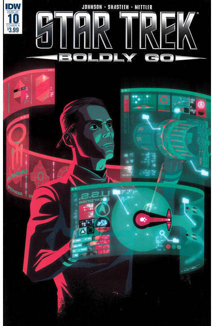 Star Trek Boldly Go #10 Cover A [IDW Comic]