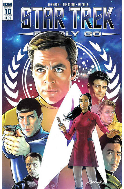 Star Trek Boldly Go #10 Cover B [IDW Comic]