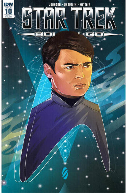 Star Trek Boldly Go #10 Cover RIB [IDW Comic]