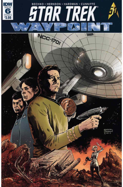 Star Trek Waypoint #6 Cover A [IDW Comic] LARGE