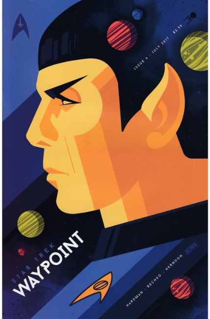 Star Trek Waypoint #6 Cover B [IDW Comic] LARGE