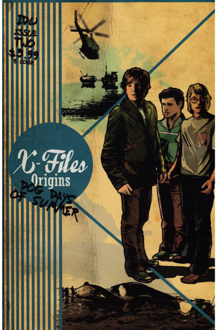X-Files Origins II Dog Days of Summer #2 Cover B [IDW Comic] THUMBNAIL