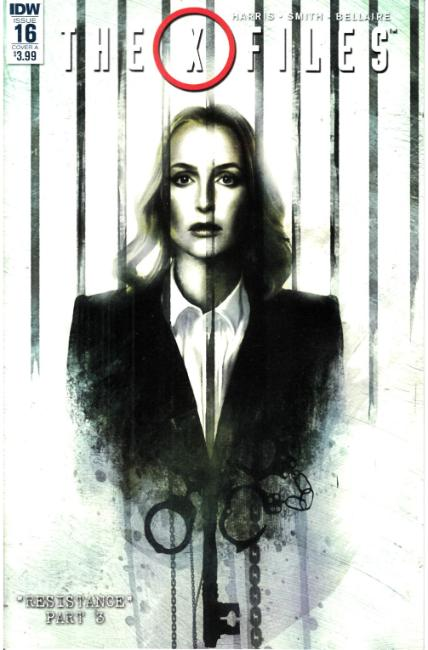 X-Files (2016) #16 Cover A [IDW Comic]