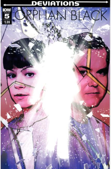 Orphan Black Deviations #5 Cover A [IDW Comic]