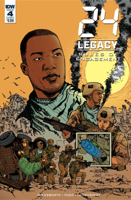 24 Legacy Rules of Engagement #4 Cover A [IDW Comic] THUMBNAIL