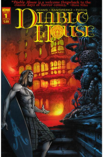 Diablo House #1 Cover A [IDW Comic] THUMBNAIL
