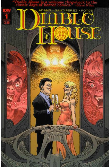 Diablo House #1 Cover B [IDW Comic] THUMBNAIL