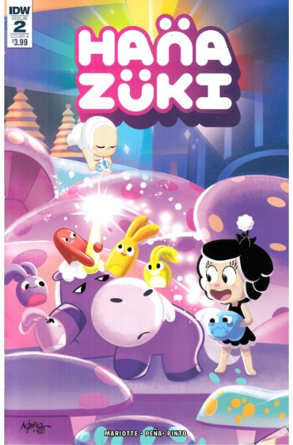 Hanazuki Full of Treasures #2 Cover A [IDW Comic] THUMBNAIL