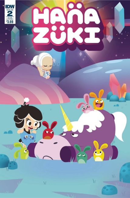 Hanazuki Full of Treasures #2 Cover B [IDW Comic] THUMBNAIL