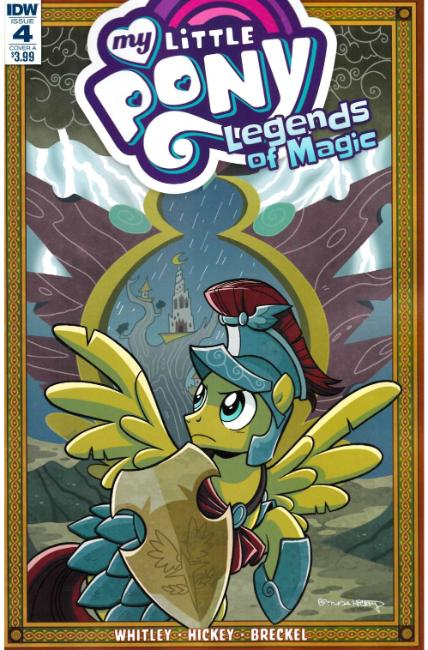 My Little Pony Legends of Magic #4 Cover A [IDW Comic]