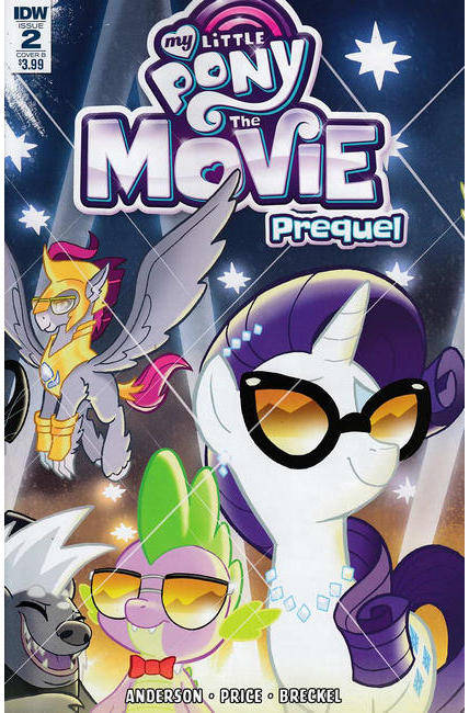 My Little Pony Movie Prequel #2 Cover B [IDW Comic]