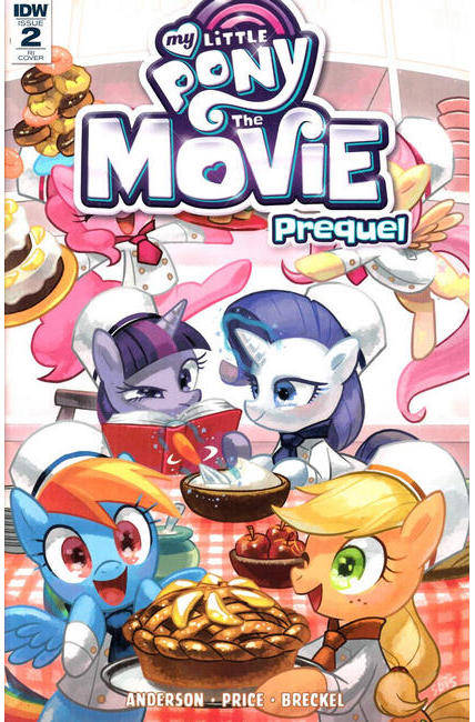 My Little Pony Movie Prequel #2 Cover RI [IDW Comic] THUMBNAIL
