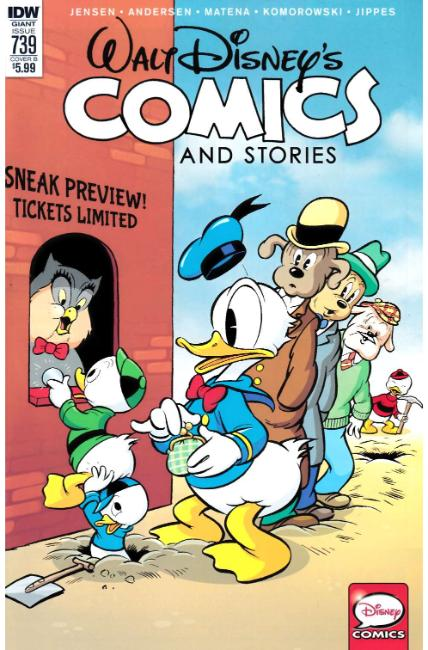 Walt Disney Comics & Stories #739 Cover B [IDW Comic]