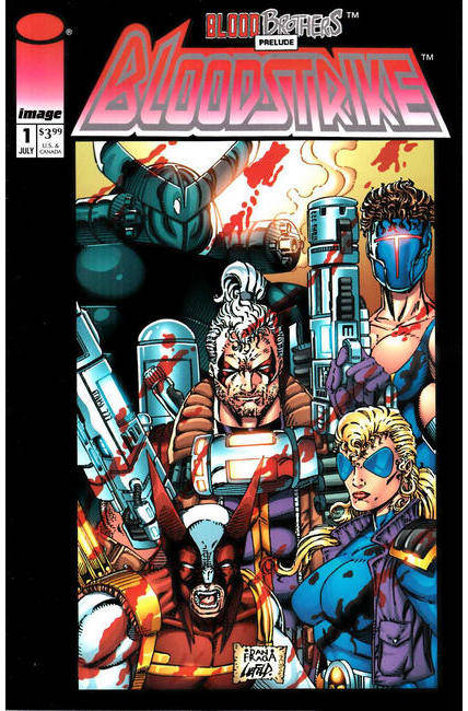 Bloodstrike #1 Remasterd Edition (One Shot) Cover A [Image Comic]