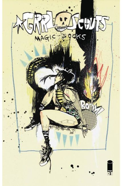 Grrl Scouts Magic Socks #3 Cover A [Image Comic] THUMBNAIL