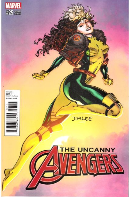 Uncanny Avengers #25 X-Men Card Variant Cover [Marvel Comic]
