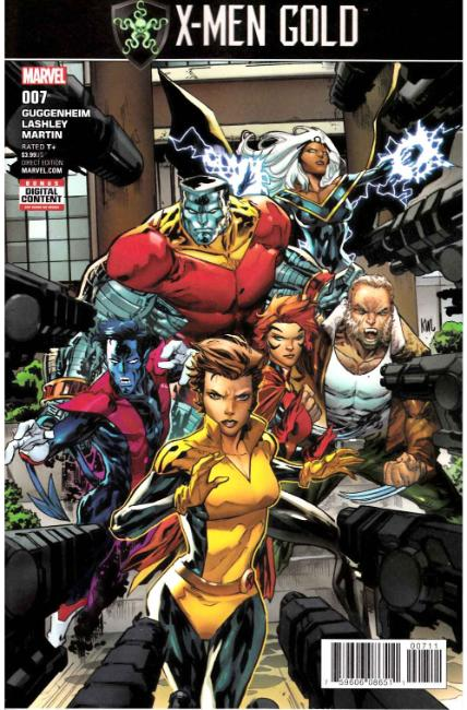 X-Men Gold #7 [Marvel Comic]