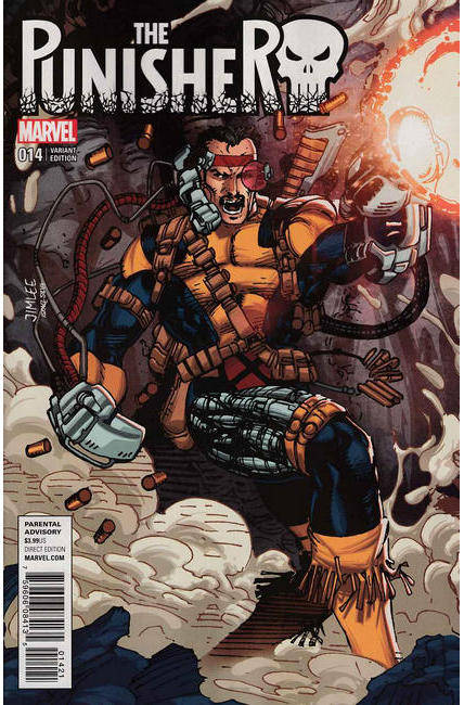 Punisher #14 X-Men Card Variant Cover [Marvel Comic] THUMBNAIL