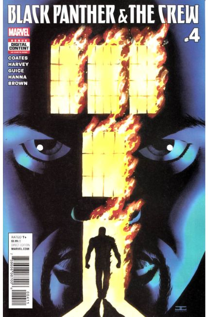 Black Panther Crew #4 [Marvel Comic] THUMBNAIL