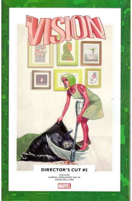 Vision Directors Cut #2 [Marvel Comic]
