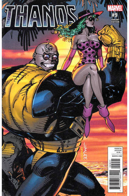 Thanos #9 X-Men Card Variant Cover [Marvel Comic]