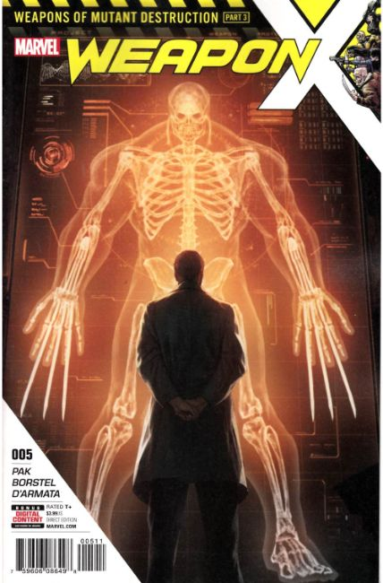 Weapon X #5 [Marvel Comic]
