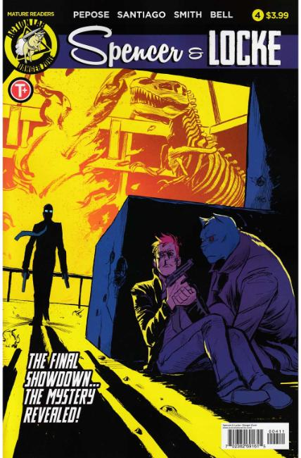 Spencer and Locke #4 Cover A [Action Lab Comic] THUMBNAIL