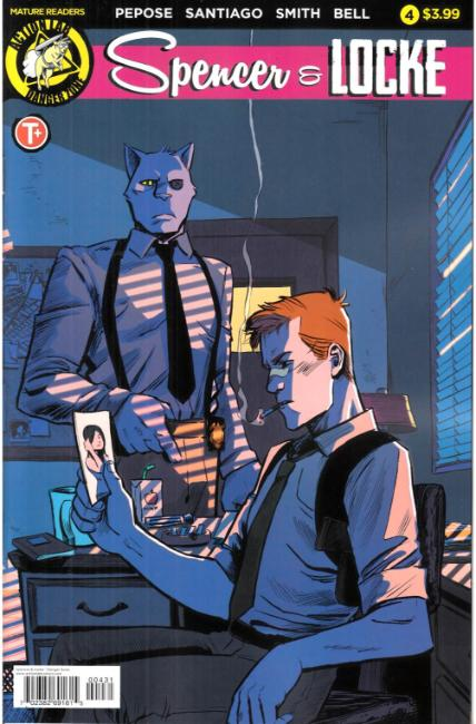 Spencer and Locke #4 Cover C [Action Lab Comic] THUMBNAIL