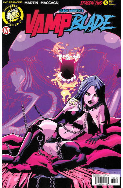Vampblade Season Two #5 Cover E- 90s Variant [Danger Zone Comic] THUMBNAIL