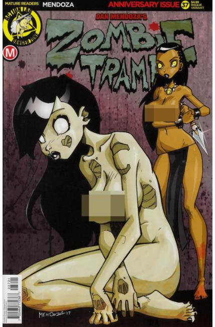 Zombie Tramp Ongoing #37 Cover B- Mendoza Risque [Danger Zone Comic]