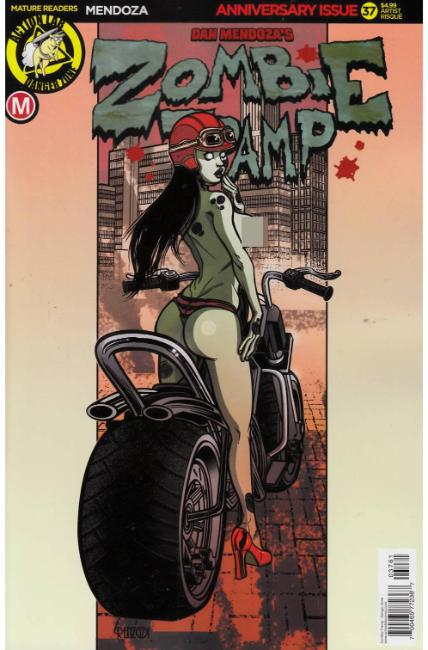Zombie Tramp Ongoing #37 Cover F- Artist Risque [Danger Zone Comic]