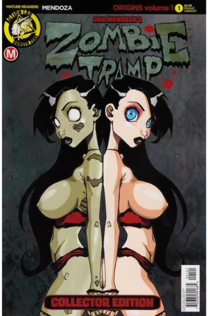 Zombie Tramp Origins #1 Cover B- Mendoza Risque [Danger Zone Comic]