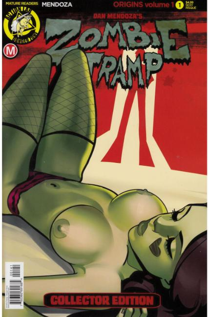 Zombie Tramp Origins #1 Cover D- Sexy Risque [Danger Zone Comic]