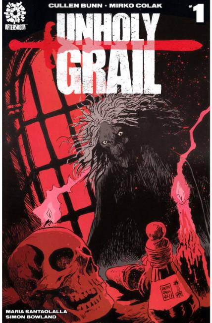 Unholy Grail #1 Cover B [Aftershock Comic]
