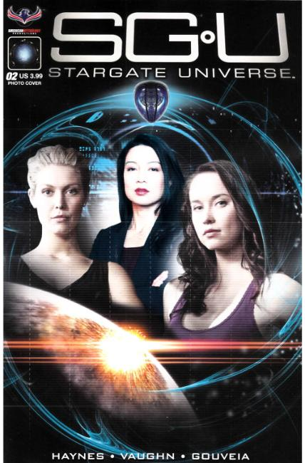 Stargate Universe Back to Destiny #2 Photo Cover [American Myth Comic]