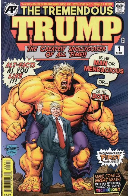 Tremendous Trump (One Shot) [Antarctic Press Comic]