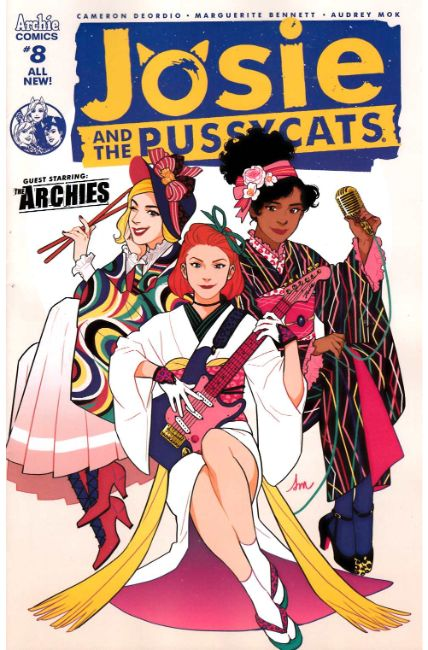 Josie & the Pussycats #8 Cover A [Archie Comic] THUMBNAIL