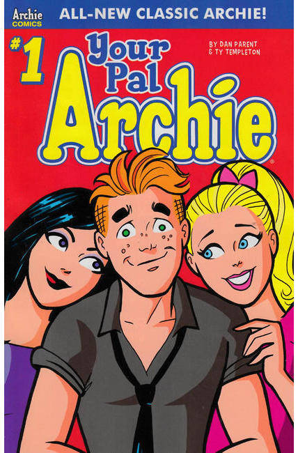 All New Classic Archie Your Pal Archie #1 Cover A [Archie Comic] LARGE