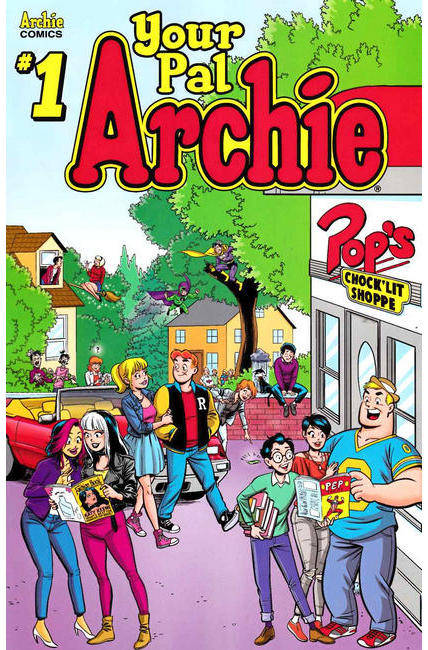 All New Classic Archie Your Pal Archie #1 Cover B [Archie Comic]_THUMBNAIL