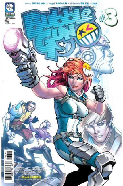 Bubblegun Vol 2 #3 Cover B [Aspen Comic] THUMBNAIL