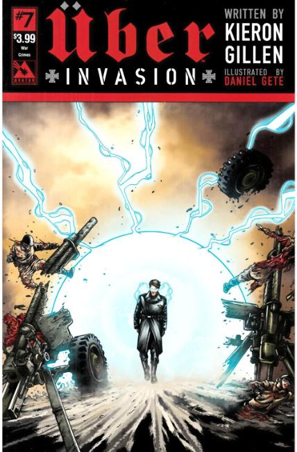 Uber Invasion #7 War Crimes Cover [Avatar Press Comic]